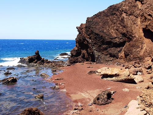 Montaña Roja, El Médano, Tenerife