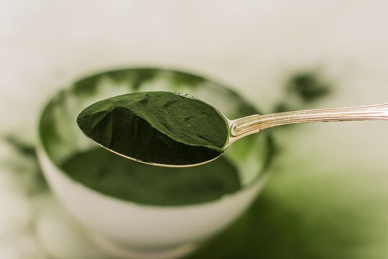 A spoon full of Chlorella