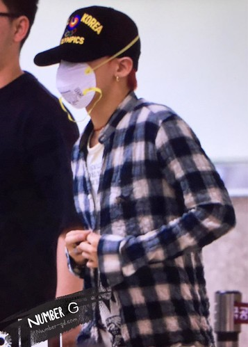 Big Bang - Gimpo Airport - 05jun2015 - G-Dragon - Number G - 02