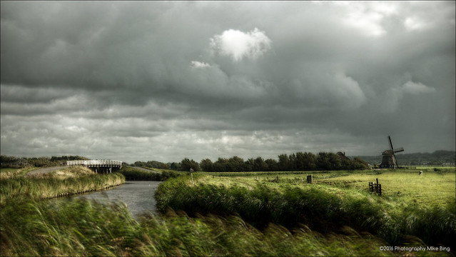 Rainclouds over the Hargerpolder