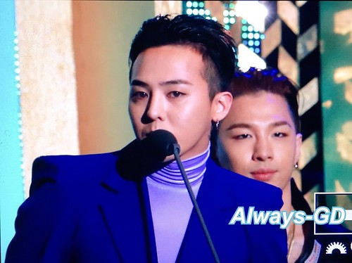 Big Bang - The 5th Gaon Char K-Pop Awards - 17feb2016 - Always GD - 08