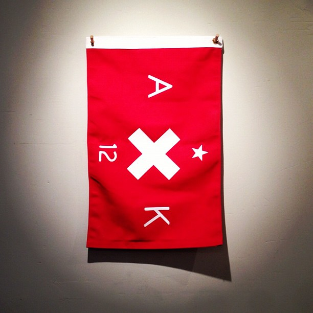 We tried to buy this @bestmadeco flag that coincidentally commemorated our wedding this year. Not for sale.