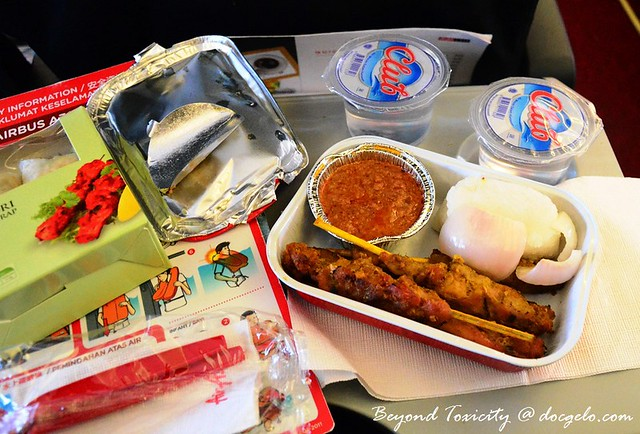 November 2012 Airline Food Review