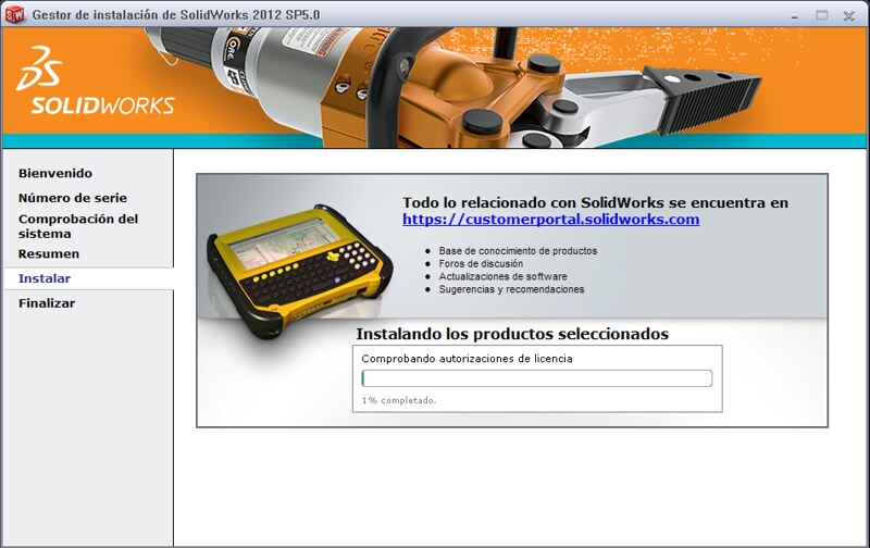 Solidworks 2012 for windows 7 64 bit. You can minimise this screen and use
