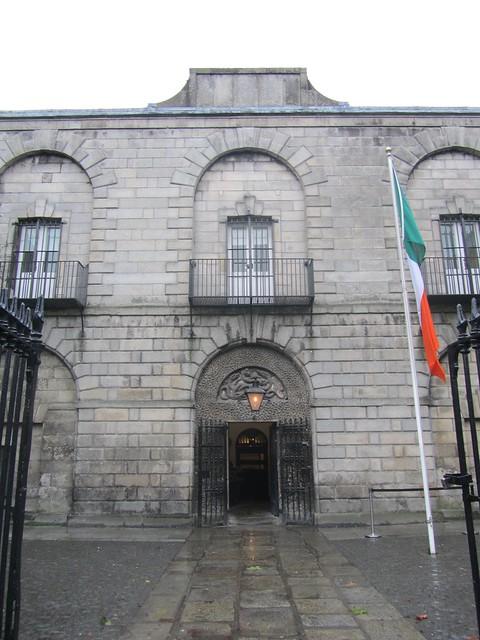 Lugar donde ahorcaban a los presos en Dublín