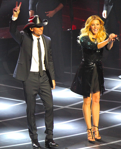 Tim and Faith peace smiling