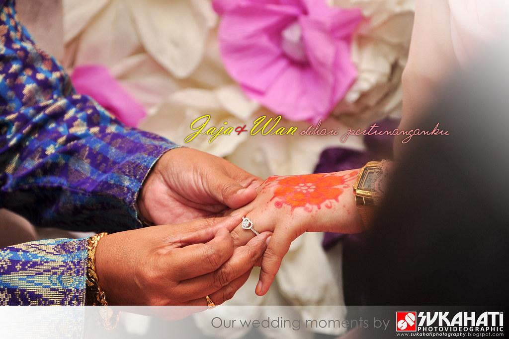 Pertunangan Jaja + Wan