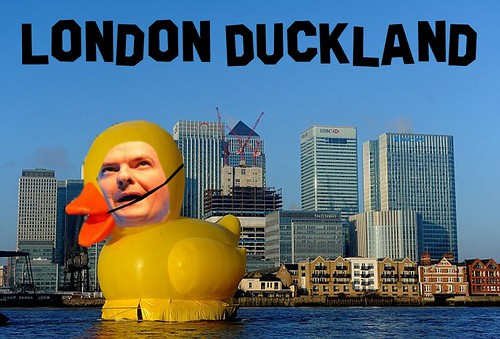 LONDON DUCKLAND by Colonel Flick/WilliamBanzai7