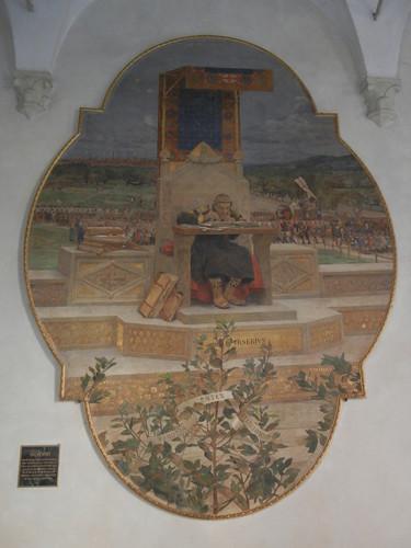 DSCN4782 _ Irnerio (Irnerius), Palazzo D'Accursio (Palazzo Comunale), Bologna, 18 October