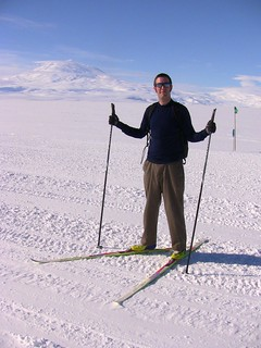 I'm learning to cross-country ski