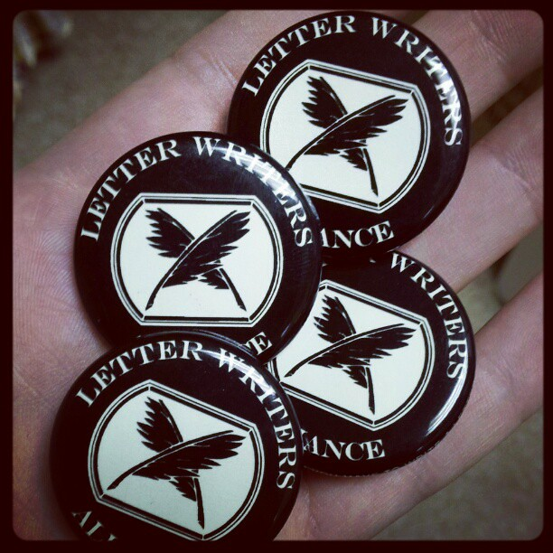 New buttons, only available with LWA memberships for a very short time.