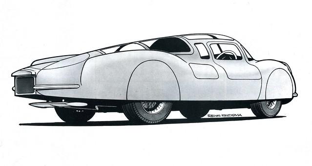 1941 Alfa Romeo by Rens Biesma