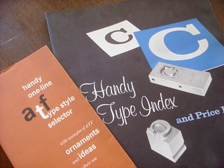 ATF type specimen booklets