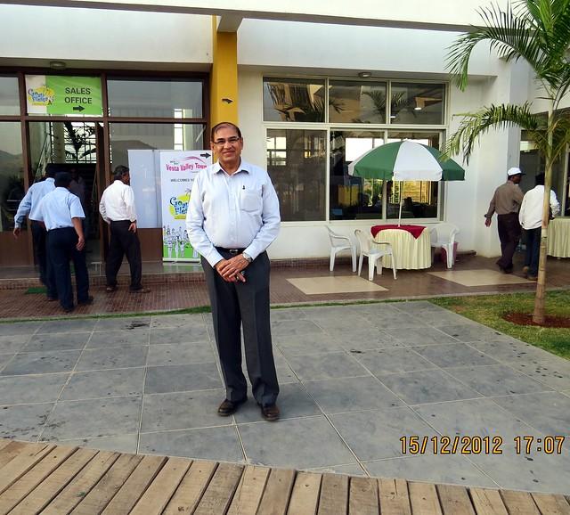 Jayantbhai Kaneria, Director, Mont Vert Homes at Mont Vert Vesta, Urawade Pirangut, Goan Fiesta 15th & 16th December 2012