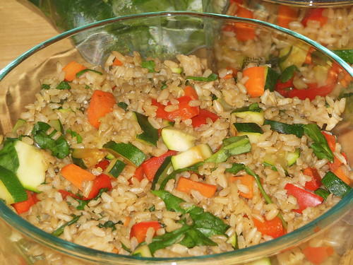 veggie rice medley