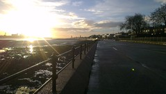Liverpool from Vale Park Promenade Gates: Copyright 16th December, 2012 Kevin & Jane Moor