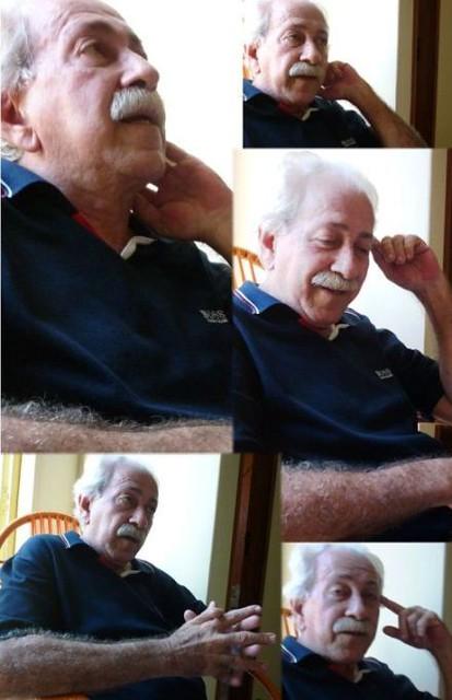Edwaldo Campos, poeta santareno. Fotos: Jeso Carneiro