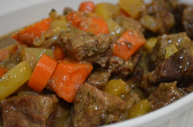 second beef stew up close