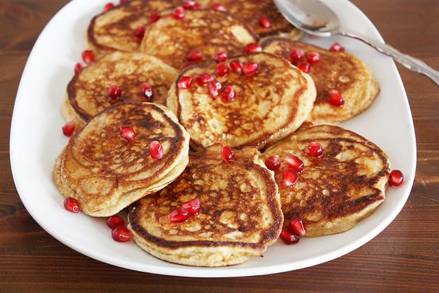 lemon-ricotta pancakes.