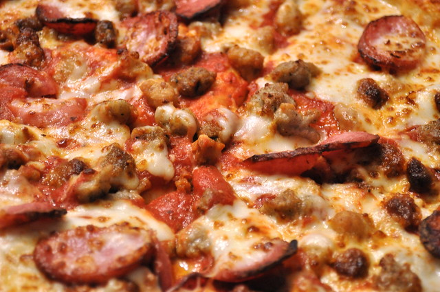 Five Sausage Pizza
