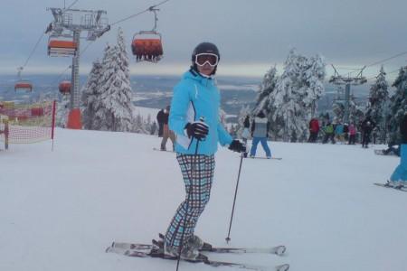 Klínovec: aktuálně nejlepší podmínky pro lyžování v Česku