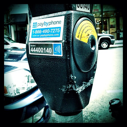 City of #SF has deployed #NFC payments for street parking meters. #mobile