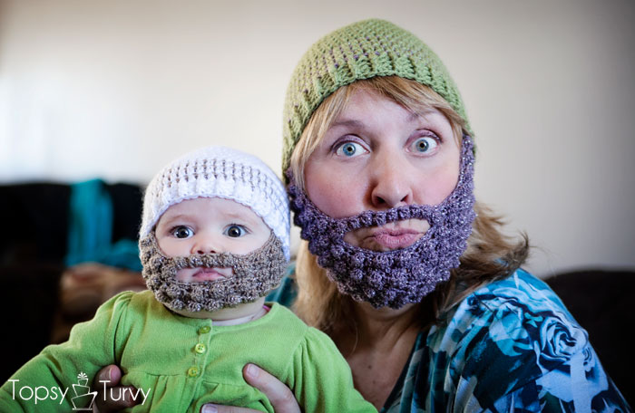 Beanie Hat With Beard Crochet Pattern Free : 301 Moved Permanently