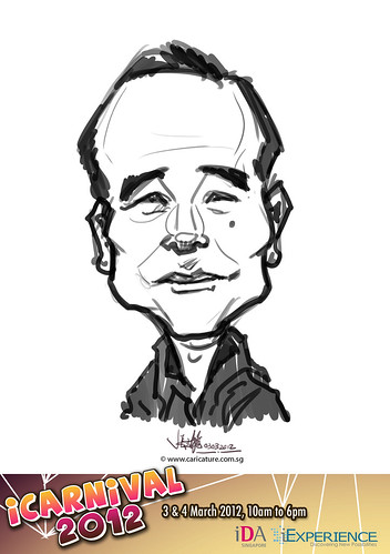 digital live caricature for iCarnival 2012  (IDA) - Day 1 - 54