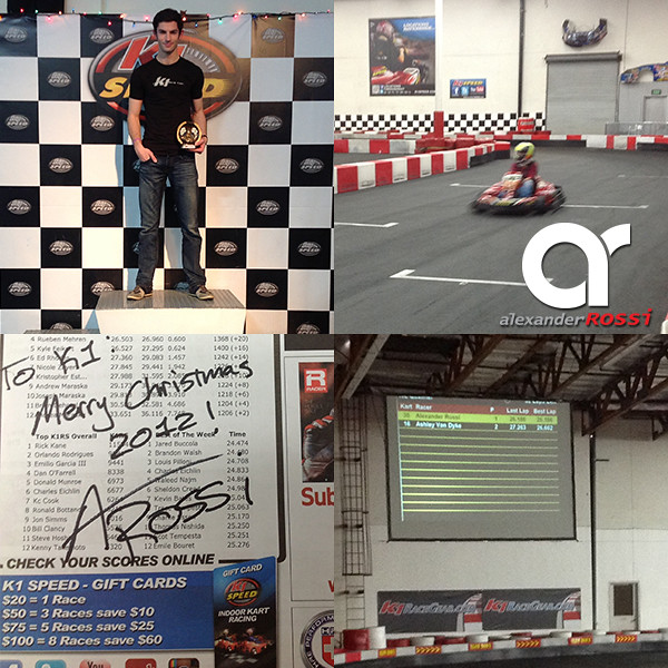 8292070717 f415397979 z American Racing Driver, Alexander Rossi, at K1 Speed!