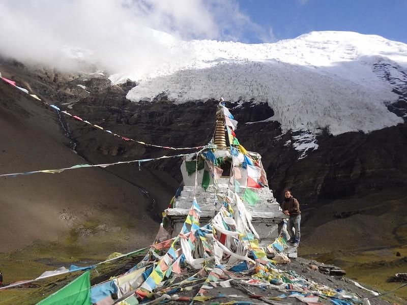 Glaciar Kharola no Tibete