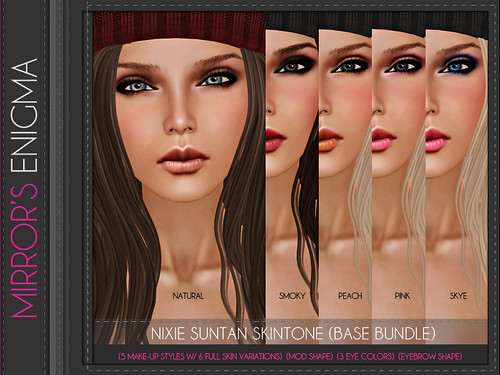 Nixie Suntan Skintone (Base Bundle)