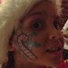 Snowflake face painting by happykatie