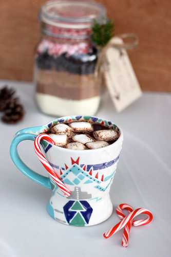 Vegan Candy Cane Hot Cocoa Mix
