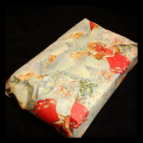 Yes, I can wrap presents all nice and such. I just...don't.