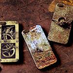 錆!歯車!針金!強烈なインパクトのあるグランジでスチームパンクなiPhone5ケース