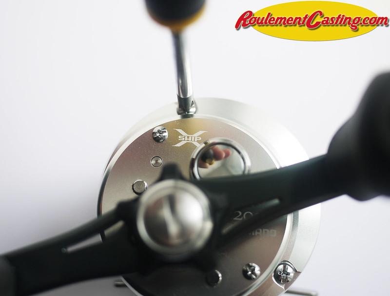 Shimano Calcutta 201D Orange seals BocaBearings 2
