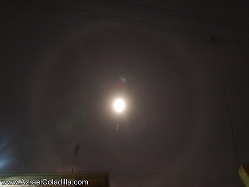 Lunar Halo of Dec 25, 2012 Philippines