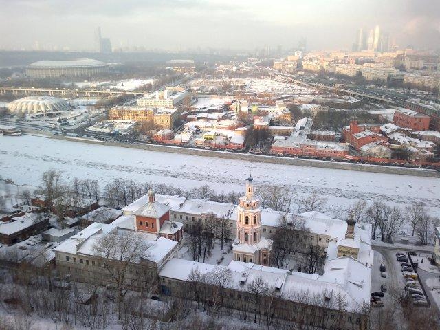 Общий вид Андреевского монастыря