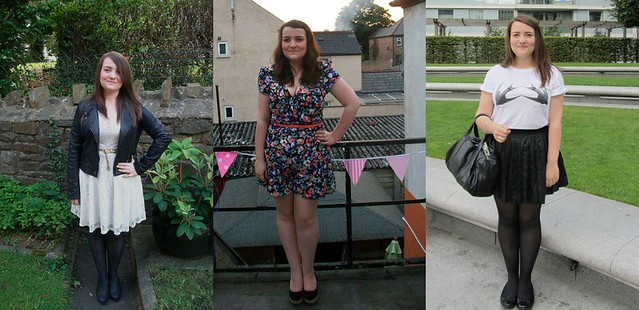 july, august, september 2012 outfits