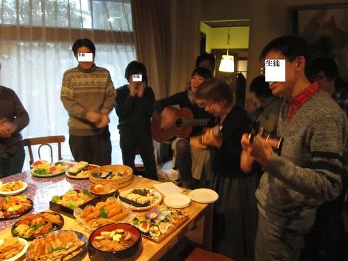 Happy Birthdayを歌う 2012年12月23日 by Poran111