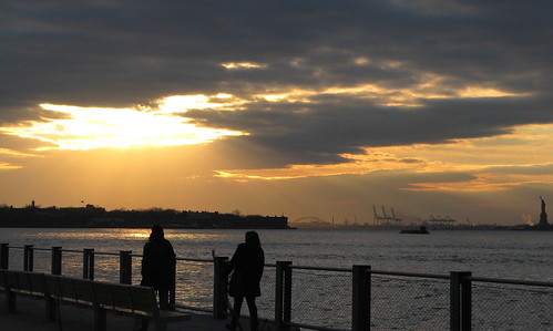 The Light Before Sunset, Brooklyn Bridge Park