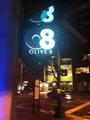 Olive 8 Sign