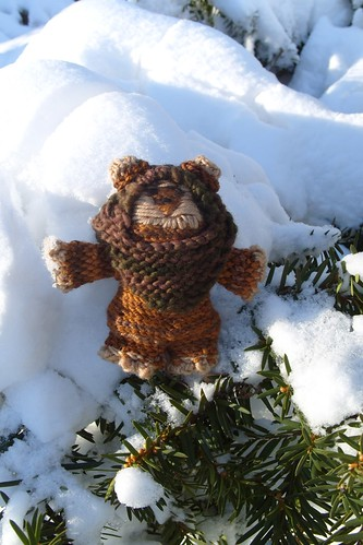 wait... ewoks don't live on Hoth...