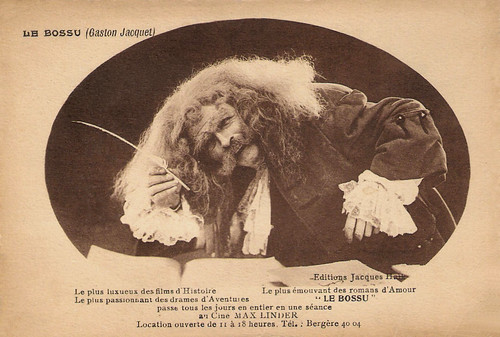 Gaston Jacquet in Le Bossu (1925)