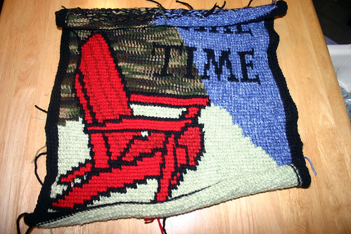 """On Lake Time"" Pillow"