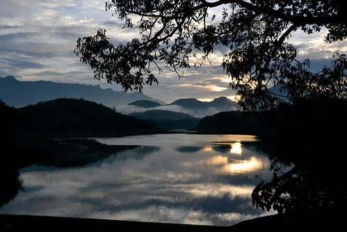 voyage india nature montagne nikon ngc lac reflet asie calme inde leverdesoleil d3100 sacàdos