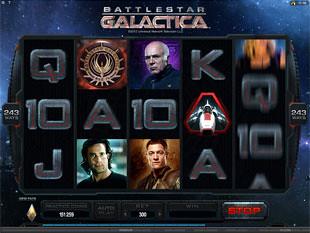 Battlestar Galactica slot game online review