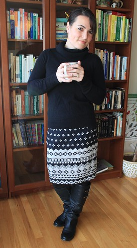 "A warm & cozy ""Charlotte"" skirt"