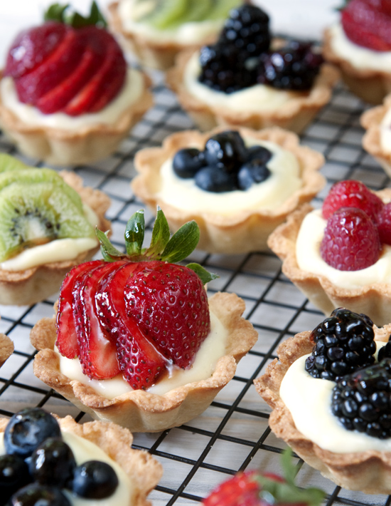Fruit and Cream MIni Tarts