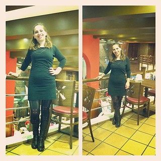 #dressember | Day 18 #dressember2012 #dress #black #boots